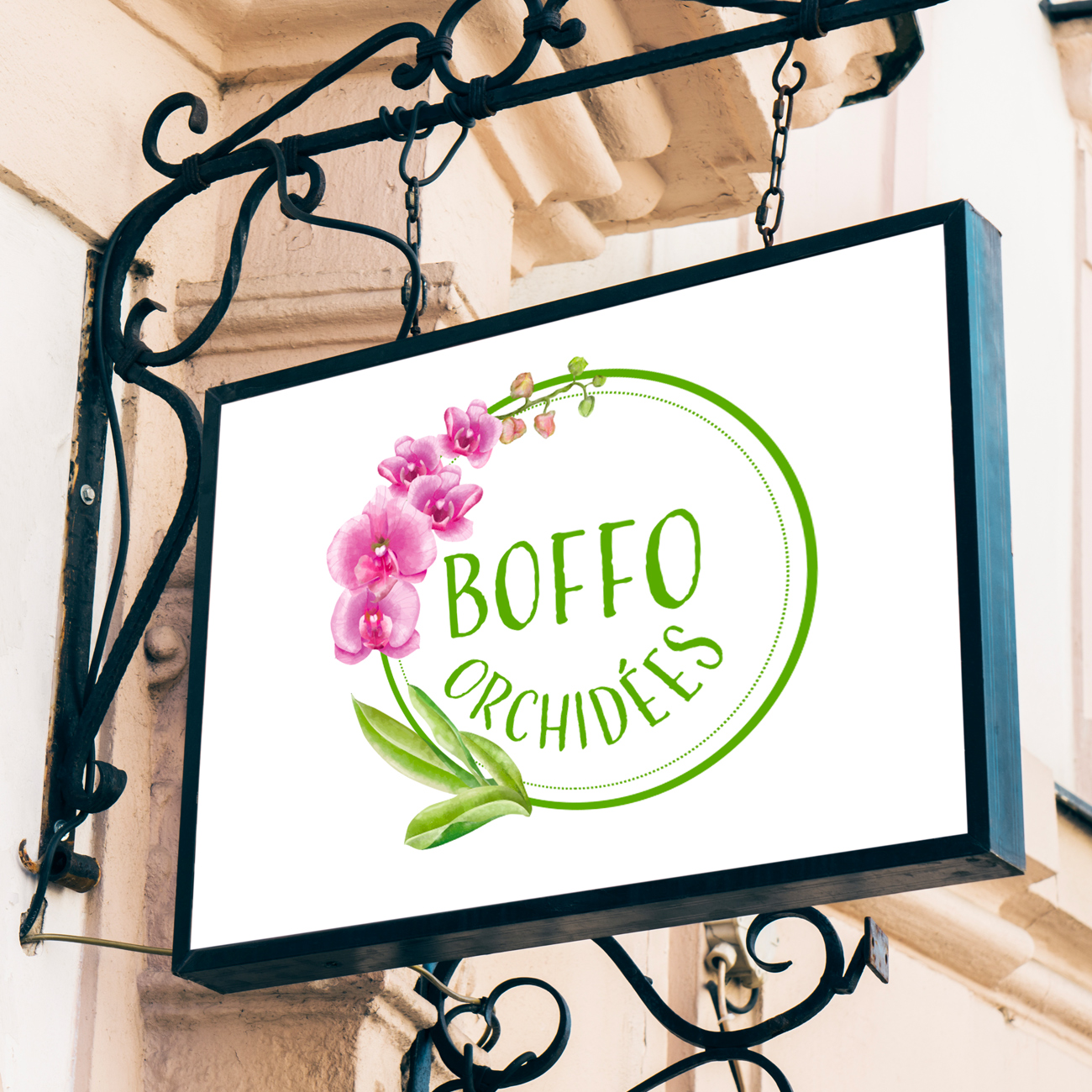 Création de site e-commerce et boutique en ligne à Toulouse - Site Boffo orchidées - Agence AKADOM